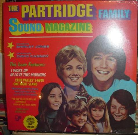 Partridge Family - Sound Magazine - Bell - Sealed 1971 USA